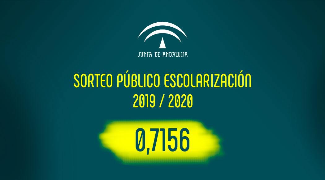 Imagen de la noticia: Sorteo público escolarización para el curso 2019-2020