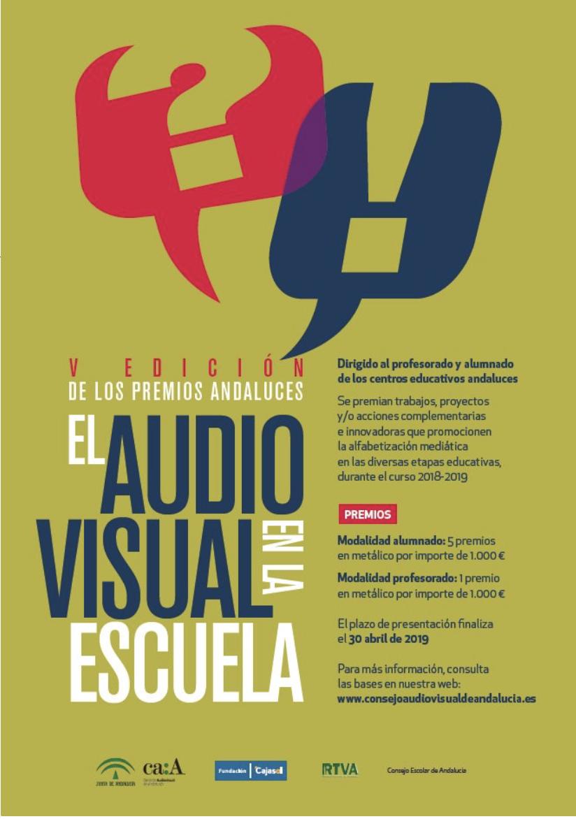 Imagen de la noticia: V edición de los premios El Audiovisual en la Escuela [Actualizado]