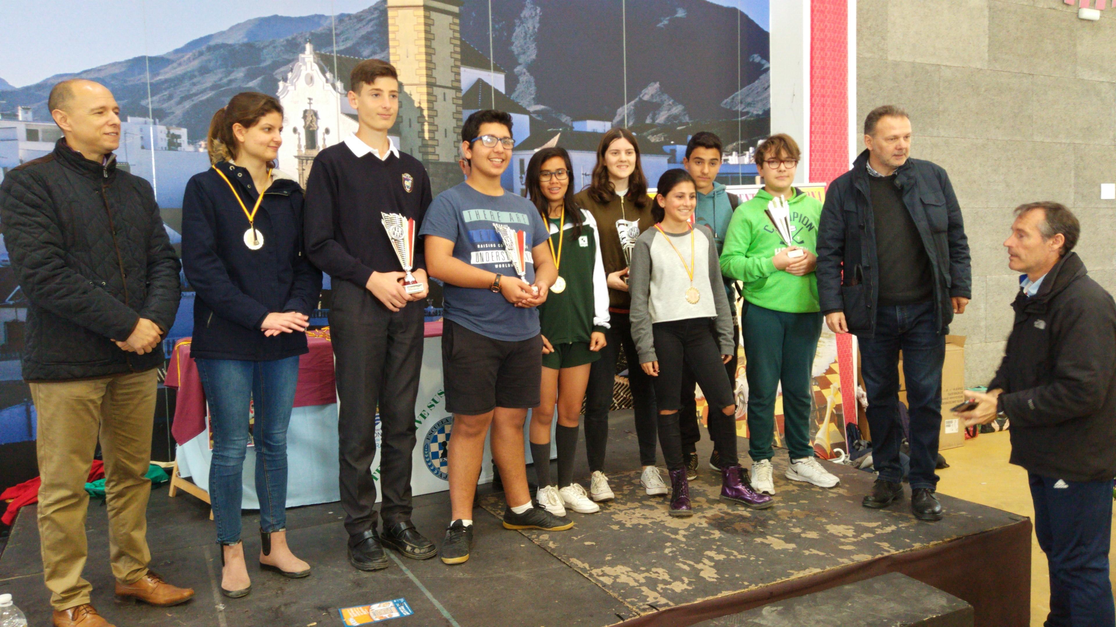 Imagen de la noticia: I.E.S. Mediterráneo Campeón Municipal de Ajedrez 2019.   [Actualizado]