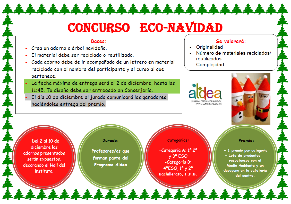 Imagen de la noticia: Concurso de adornos navideños Eco-Navidad [Actualizado]