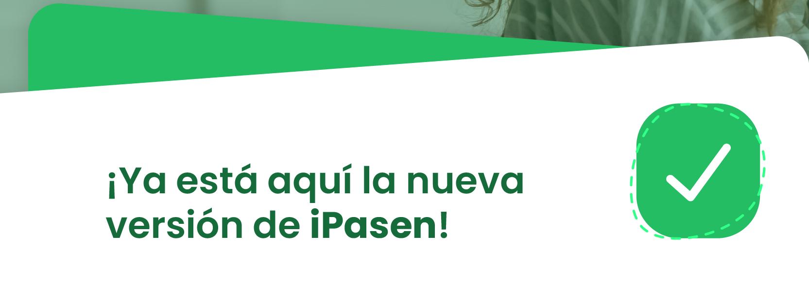 Imagen de la noticia: Nueva versión de iPASEN [Actualizado]