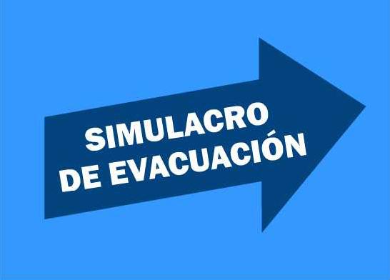 Imagen de la noticia: Simulacro de Evacuación del Centro [Actualizado]